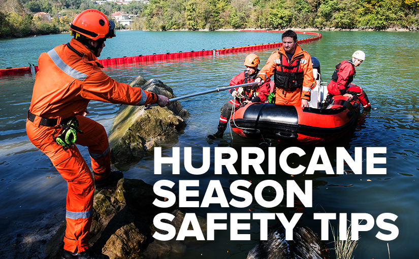 Safety equipment to wear when a hurricane hits